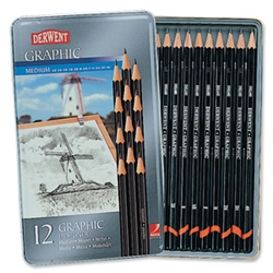 High quality graphite pencils in an extensive range of degrees from 9B to 4H Suitable for writing, sketching and design. Pencils Model: 34214 - CLICK FOR MORE INFORMATION